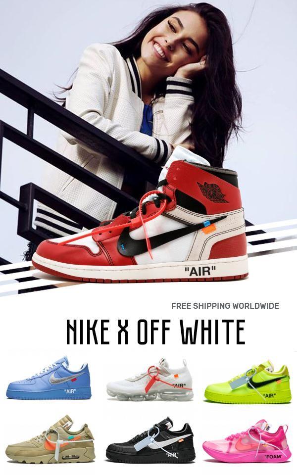 Price Of Womens Nike Off White Air Jordan 1 Red Ow Sneakers