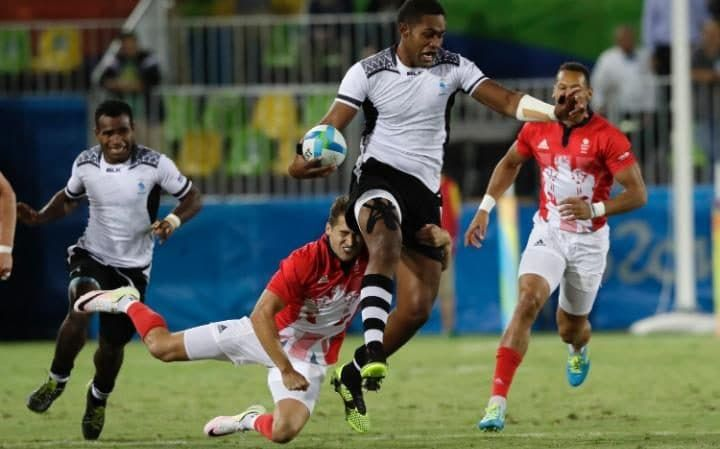 Team GB thrashed 43-7 as Fiji win their first ever Olympic medal