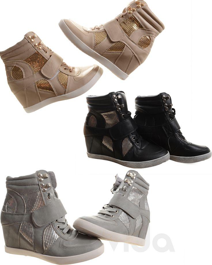 scarpe da ginnastica con zeppa donna nike