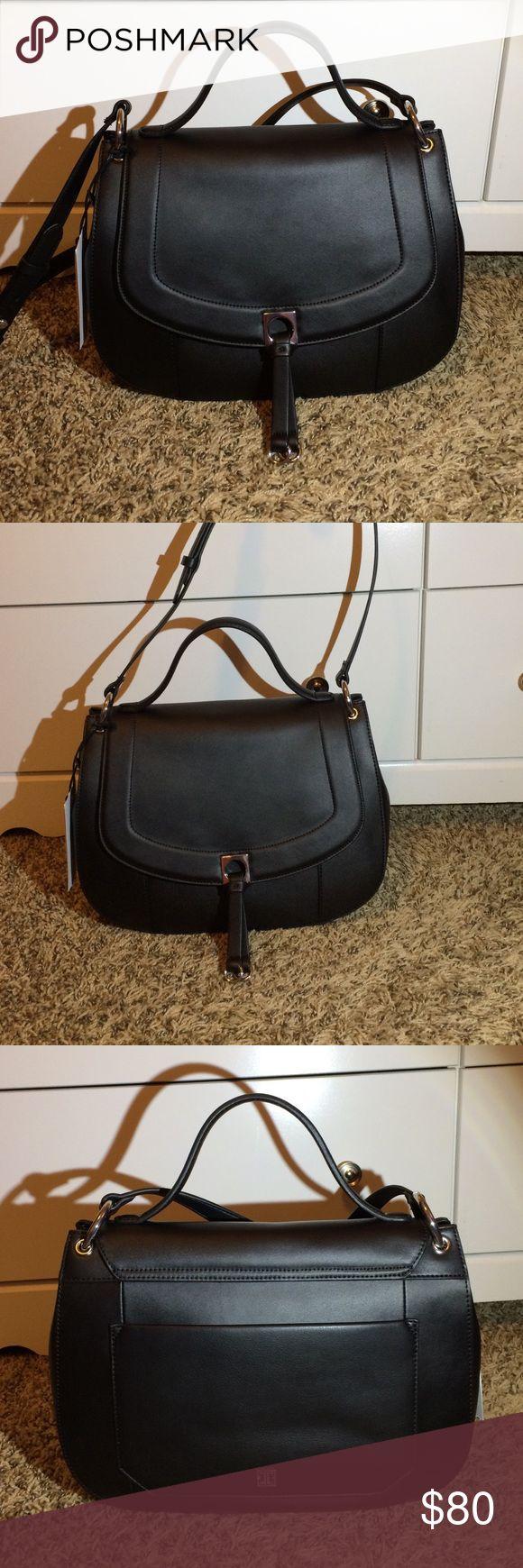 Ivanka Trump Claudia bag Ivank Trump Claudia handbag black leather absolutely gorgeous new with tags Ivanka Trump Bags Shoulder Bags