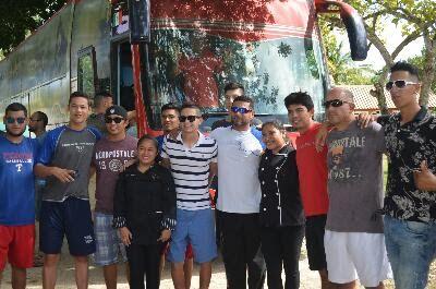Escárcega, Campeche, 18 de diciembre de 2016.- Era el momento de la despedida, de decirle adiós a Escárcega y los integrantes del galeón agr...