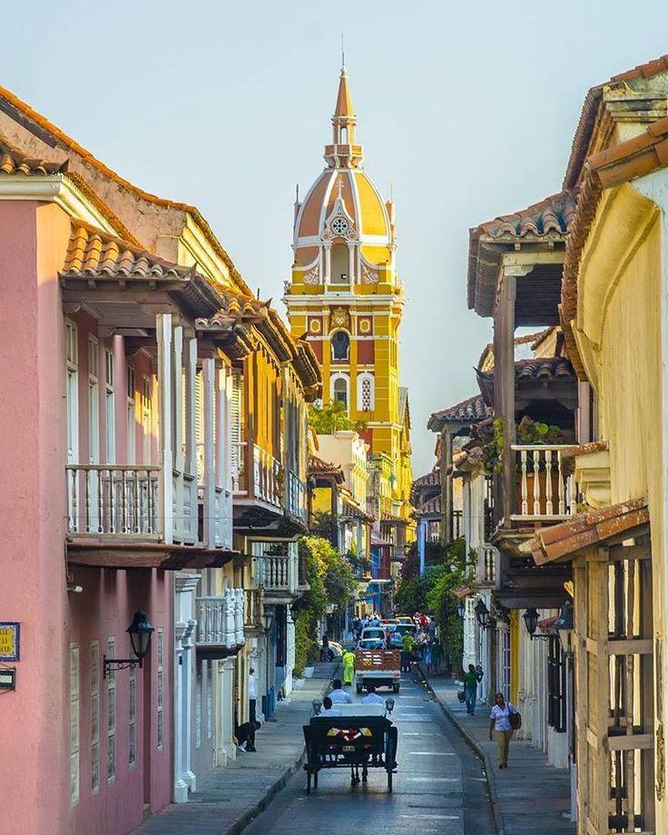 ❝ #FOTO - Las soñadas calles de Cartagena de Indias, Colombia ❞ ↪ Vía: Entretenimiento y Noticias de Tecnología en proZesa
