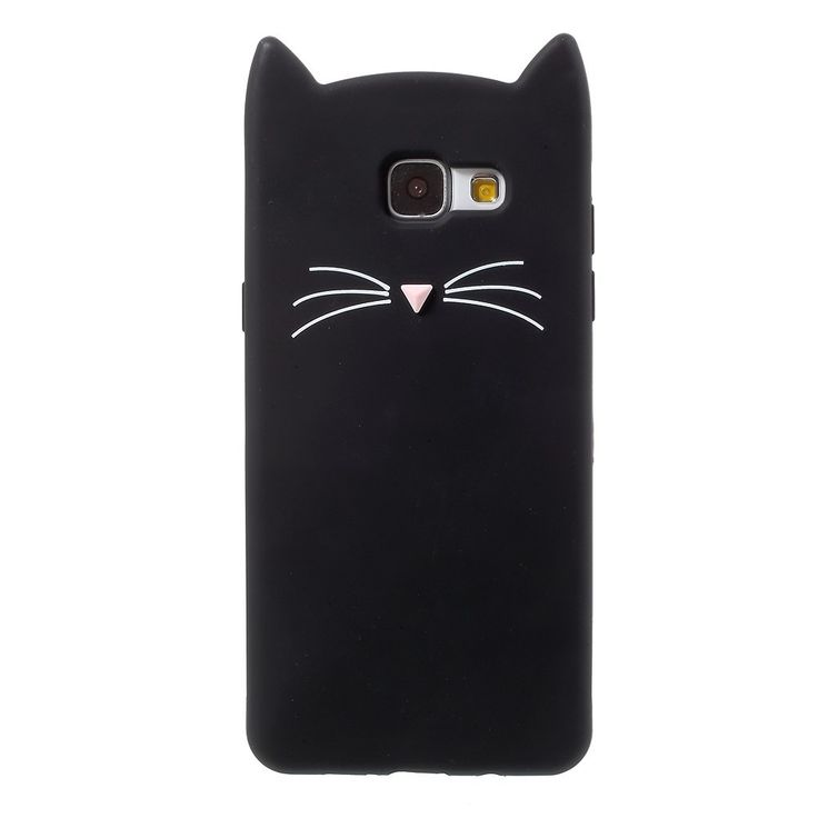 Coque Samsung Galaxy A5 2016 Design Chat - Noir