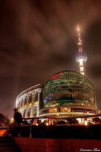 International Conference Center & Oriental Pearl TV Tower,  Shanghai, China