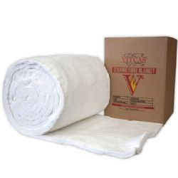 Ceramic Fibre Blanket 25mm-Vitcas Ceramic Insulation