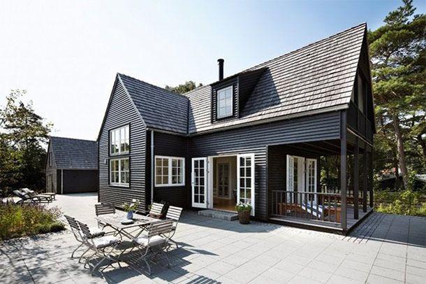 Deens zomerhuisje met Amerikaanse invloeden
