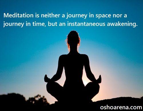 Secret about Meditation: Osho
