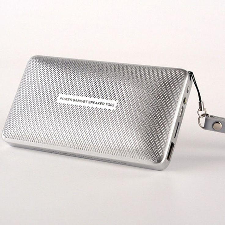 Mini flashlight Wireless Portable Bluetooth speaker used as power bank TF radio FM with Bracket hook parlante bluetooth portatil #Affiliate