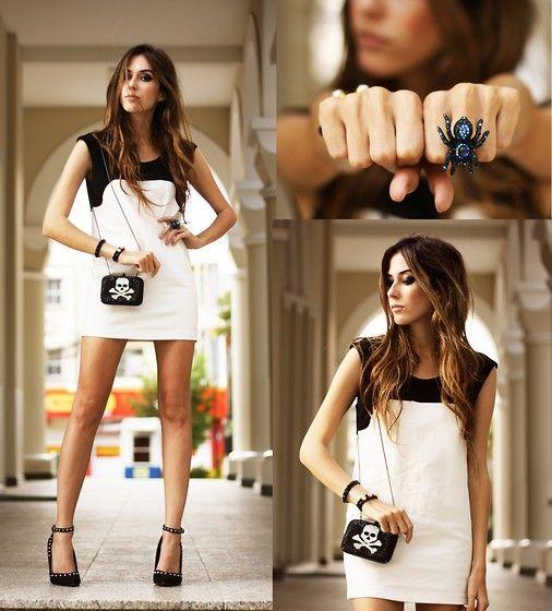 Lovemartini Dress, Santafina Ring, Santafina Clutch