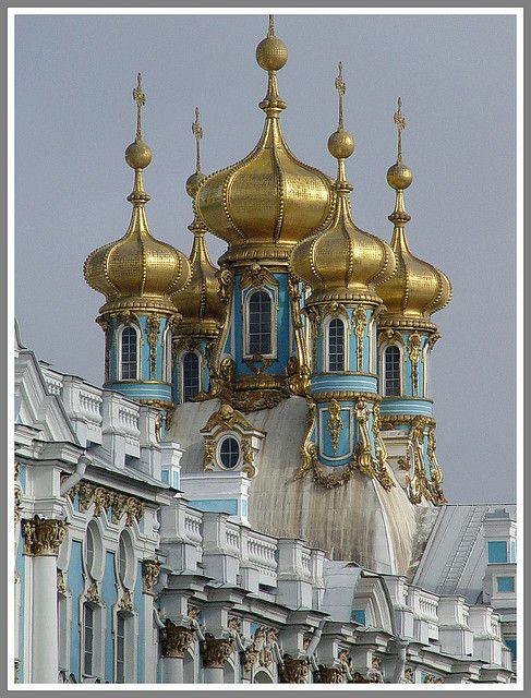 Golden  Domes  Peterhof  Palace.  St. Petersburg, Russia: Beautiful Cities, Russian Architecture, Peterhof Palaces, Russian Castles, St. Petersburg Russia, Catherine Palaces, Russia Travel, Fantasy Castles, Russian Church