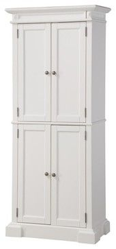 Americana Pantry, White transitional-pantry-cabinets