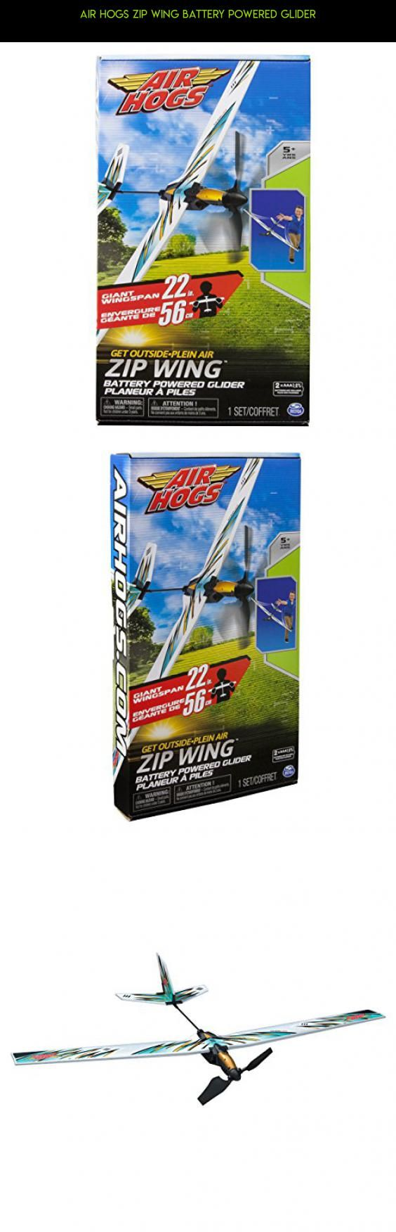 Air Hogs Zip Wing Battery Powered Glider #racing #technology #tech #zip #parts #camera #air #drone #hogs #products #gadgets #shopping #wing #kit #plans #fpv