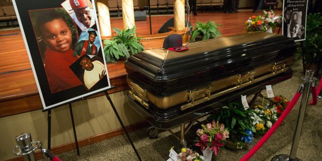 Michael Brown Funeral Filled With Cries For Justice