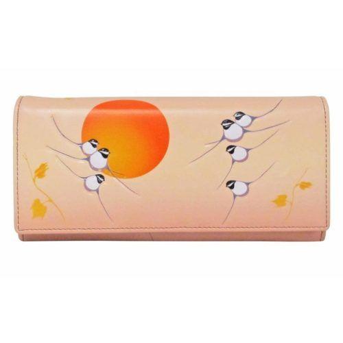 Rick Beaver Chickadee Wallet #wallet #ladieswallet #chickadee #nativeindianart #firstnationsart