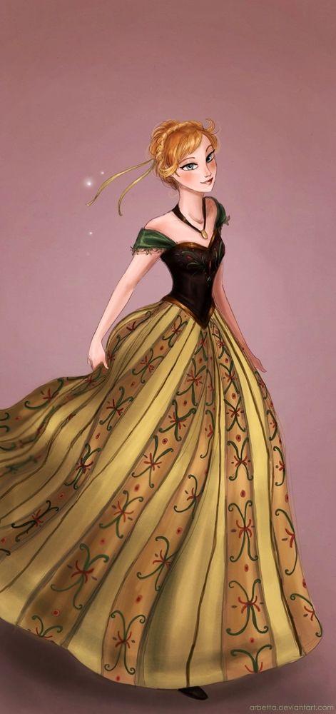 Princess Anna by *Arbetta on deviantART