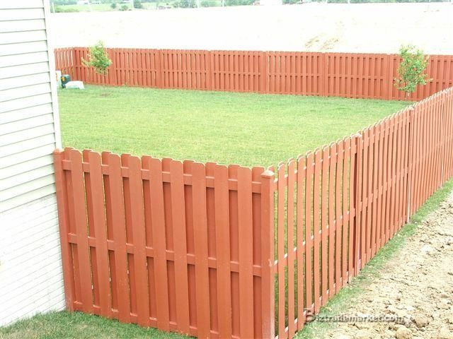 Pallet fence made from pallets pinterest picket for Pallet picket fence