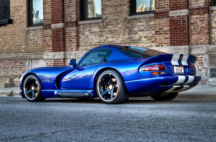 1996 Dodge Viper GTS Yes it's flashy but it's got so much power and those classic stripes, it just has to be in the dream garage!