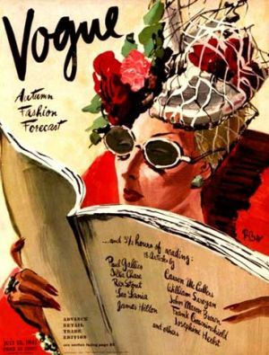 Vintage Vogue magazine covers - mylusciouslife.com - Vintage Vogue covers2.jpg