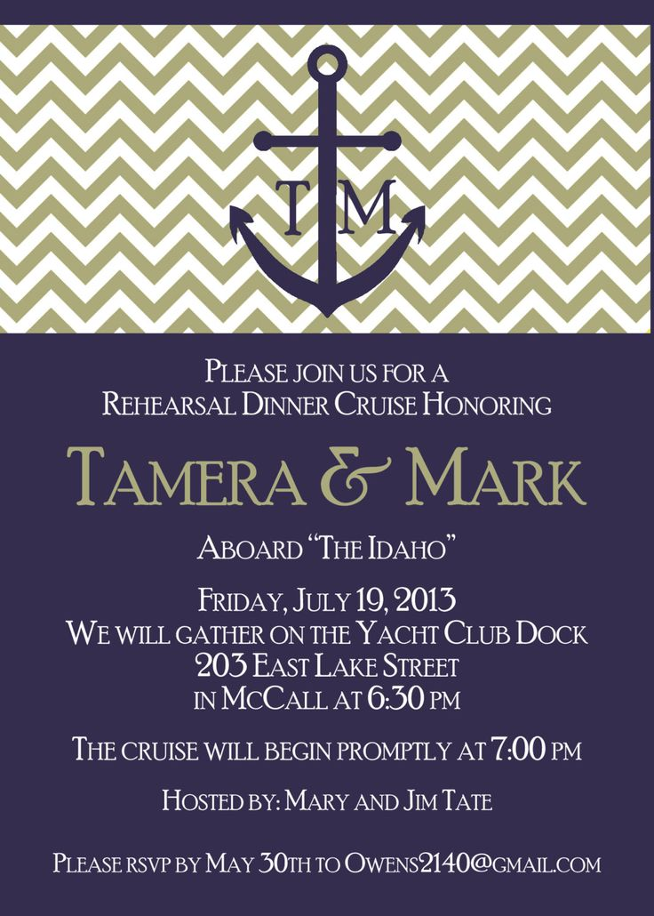 Best Rehearsal Dinner Invitation Template Images On