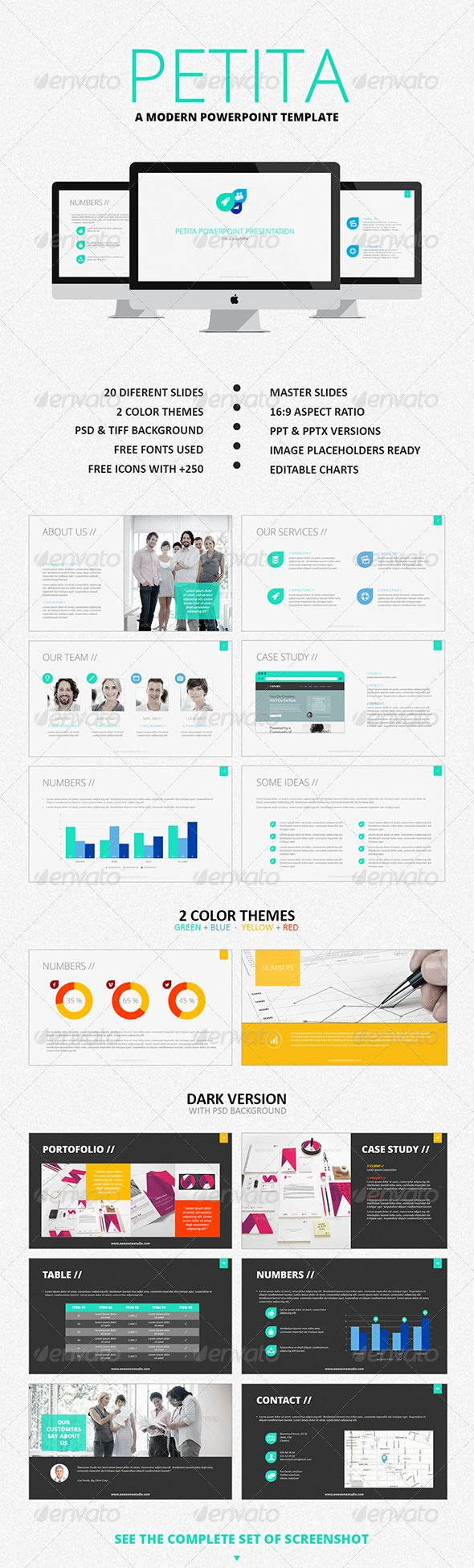 60 best powerpoint images on pinterest ppt design presentation petita powerpoint template toneelgroepblik Choice Image