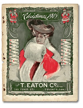 The T. Eaton Co Limited 1903 Christmas Catalogue Cover