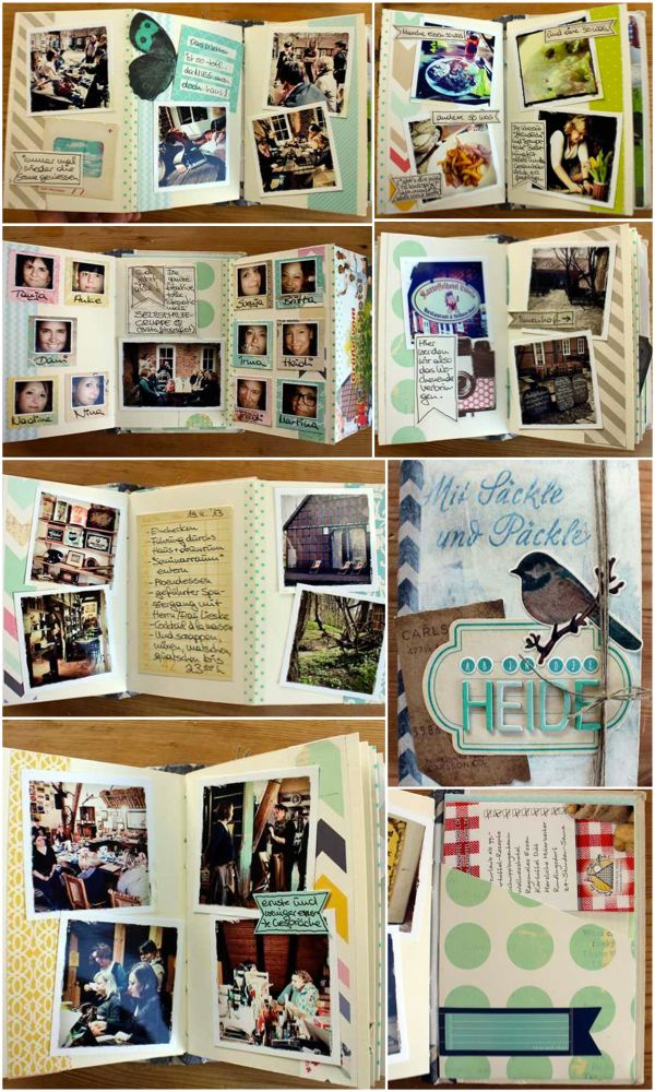 22 best fotobuch gestalten fotobuch ideen layout images for Fotobuch ideen