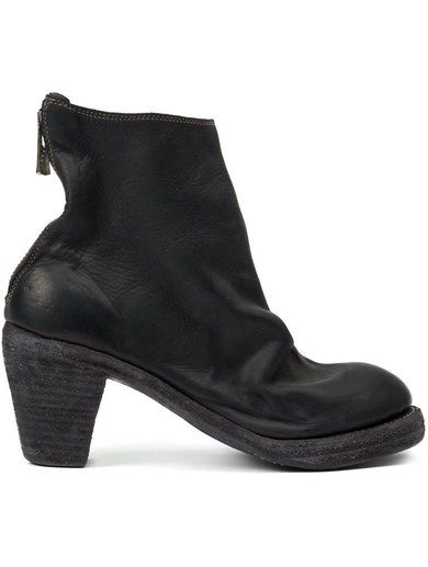 Guidi Zip Up Ankle Boots