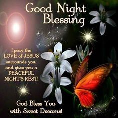 Good Night and God Bless You All.