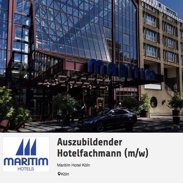 Nice Auszubildender Hotelfachmann m w Job Freie Stelle Stellenangebot in K ln von Maritim Hotel K ln Auszubildender Hotelfachmann m w MitarbeiterIn