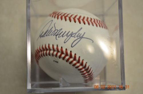 Dale Murphy Signed Baseball