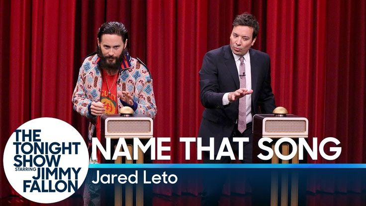Name That Song Challenge with Jared Leto - YouTube