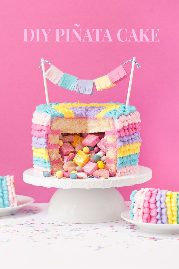 539 best Birthday Cakes images on Pinterest Petit fours Sweet