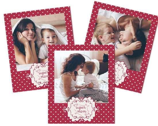 Polaroid Magnetiche Super mom