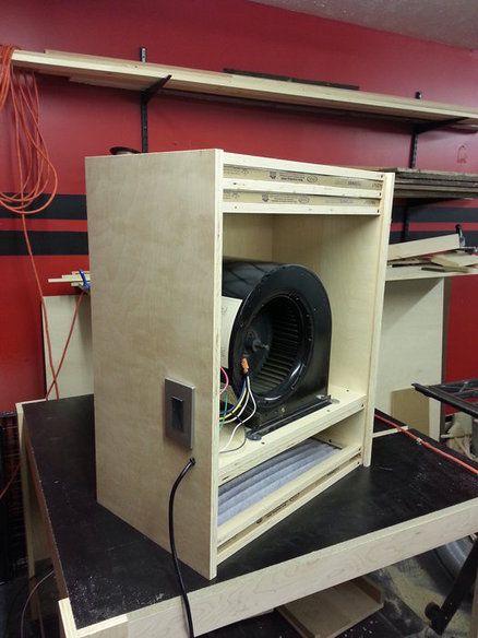 Shop made air filter