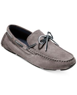 Cole Haan Men's Kelson Camp Moc Driver - Gray 11.5