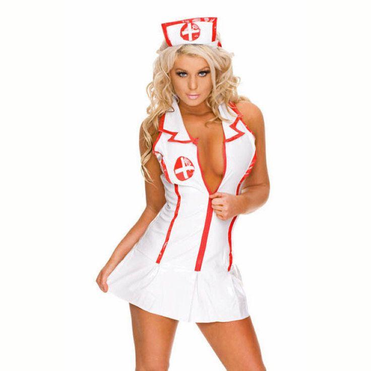 Hot Bedroom Nurse Halloween Costume