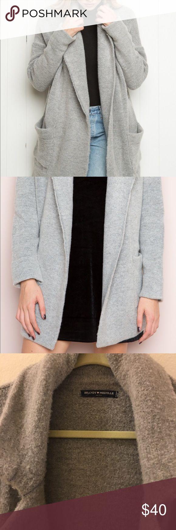 Brandy Melville cardigan coat Brandy Melville coat Brandy Melville Jackets & Coats