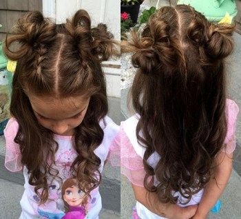 Fabulous 1000 Ideas About Cute Little Girl Hairstyles On Pinterest Hairstyles For Women Draintrainus