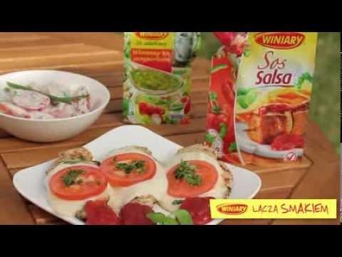Piersi z kurczaka z grilla/ Grilled chicken breast  www.winiary.pl
