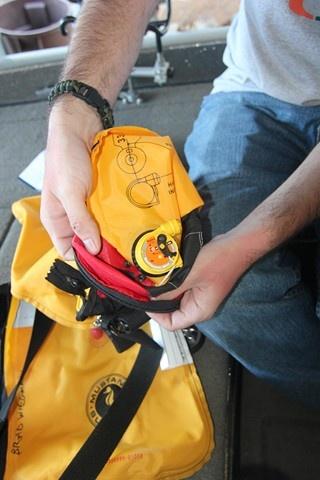 Mustang Survival MA7214 HIT  inflatable PFD Re-arm Kit. Photo copyright Brad Wiegmann Outdoors http://www.bradwiegmann.com/tackle/accessories-and-electronics/1043-mustang-survival-ma7214-hit-re-arm-kit-for-inflatable-pfd.html