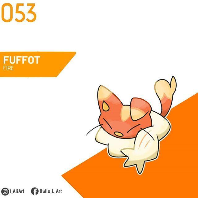 Maono Region On Instagram 053 Fuffot Fuffot Lvl Up Type Fire Height 0 3m Gender 50 Male 50 Female Ability Flam Flame Body Male Instagram