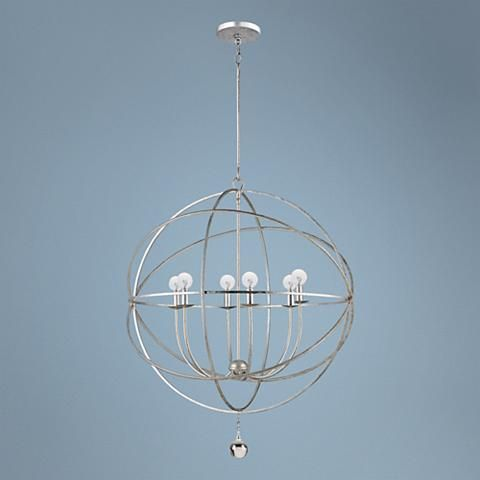 Solaris Collection 6-Light Modern Pendant Light - #K4946 | Lamps Plus