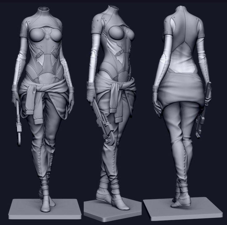 "tastyBurger - ""Mechanic 3D render"""