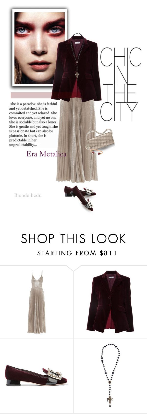 """Being soft and strong is a combination few have mastered"" by blonde-bedu ❤ liked on Polyvore featuring Rochas, Altuzarra, Miu Miu, Dolce&Gabbana and Henri Bendel"