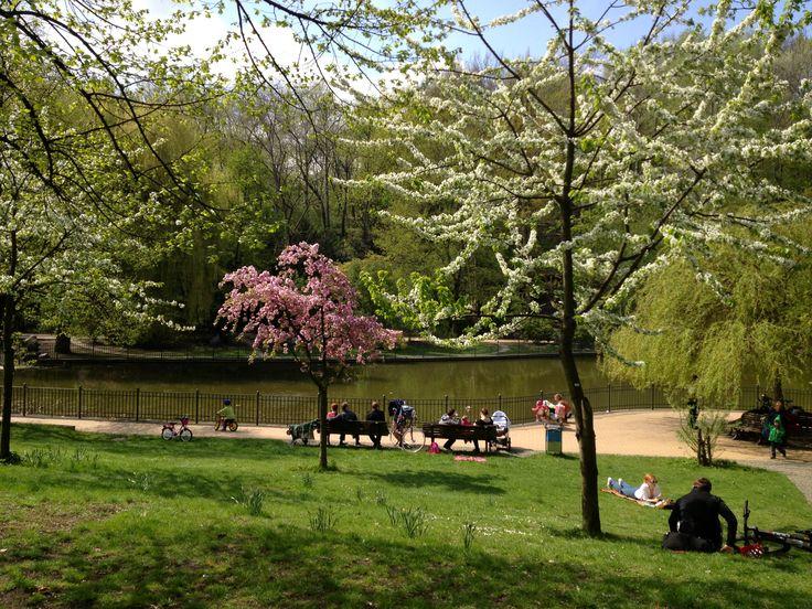Spring!, Friedrichshain Park.