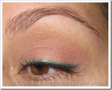 Jumbo Eyeliner & Shadow in Black and Turquoise da Beauty UK