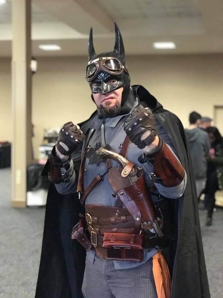 Dave Lee as Steampunk Bat Man