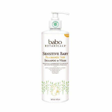 Sensitive Baby Fragrance Free Shampoo & Wash (Family Size)