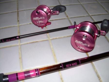 pink fishing gear for women   Re: Pink Oceangirl Fishing Rod Pole E-Glass Inshore Series