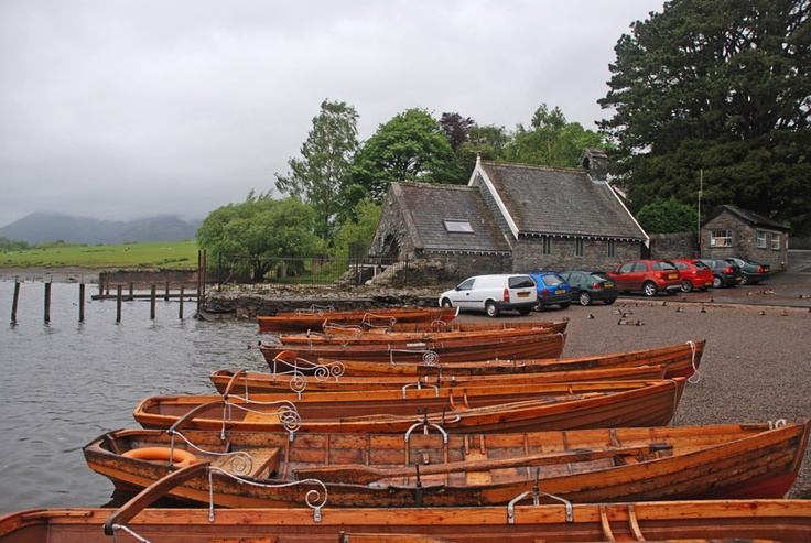 boats in the Lake District